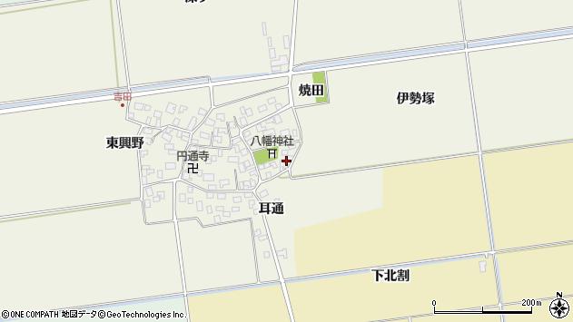 山形県酒田市吉田伊勢塚72周辺の地図
