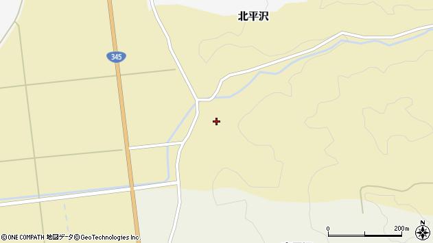 山形県酒田市北平沢盛沢61周辺の地図