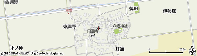 山形県酒田市吉田伊勢塚105周辺の地図