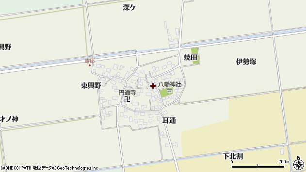 山形県酒田市吉田伊勢塚周辺の地図