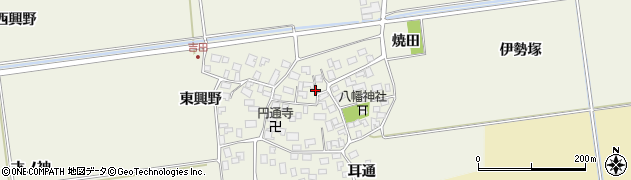 山形県酒田市吉田伊勢塚108周辺の地図