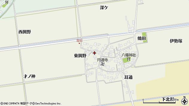 山形県酒田市吉田伊勢塚135周辺の地図