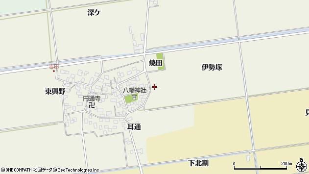 山形県酒田市吉田伊勢塚26周辺の地図