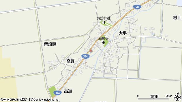 山形県酒田市安田大平139周辺の地図