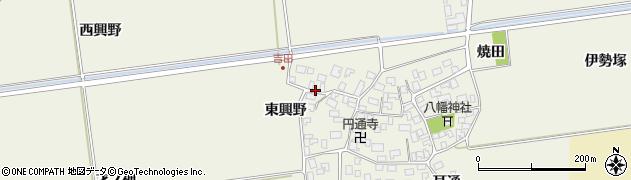 山形県酒田市吉田伊勢塚167周辺の地図