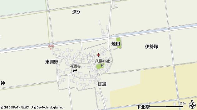 山形県酒田市吉田伊勢塚56周辺の地図