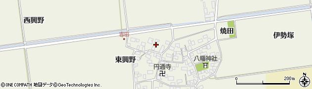 山形県酒田市吉田伊勢塚173周辺の地図
