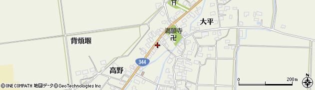 山形県酒田市安田大平140周辺の地図