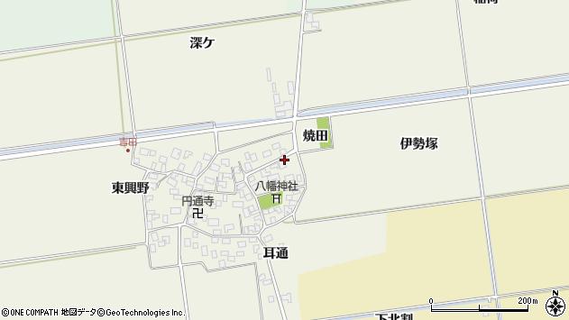 山形県酒田市吉田伊勢塚35周辺の地図