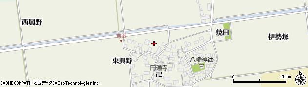 山形県酒田市吉田伊勢塚171周辺の地図