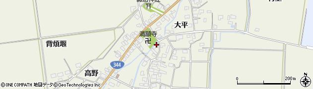山形県酒田市安田大平272周辺の地図