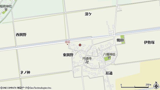 山形県酒田市吉田洞ノ上78周辺の地図