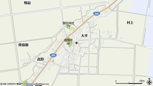 山形県酒田市安田大平57周辺の地図