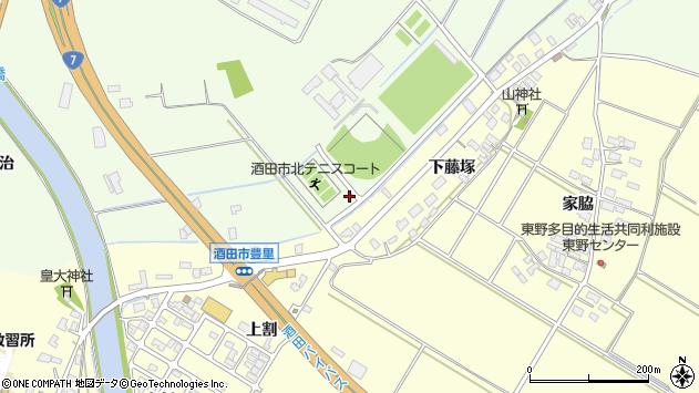 山形県酒田市宮海明治67周辺の地図
