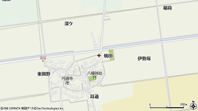 山形県酒田市吉田伊勢塚1周辺の地図