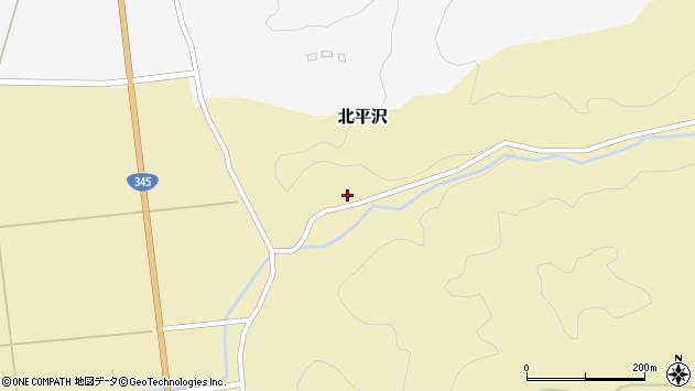 山形県酒田市北平沢大沢62周辺の地図