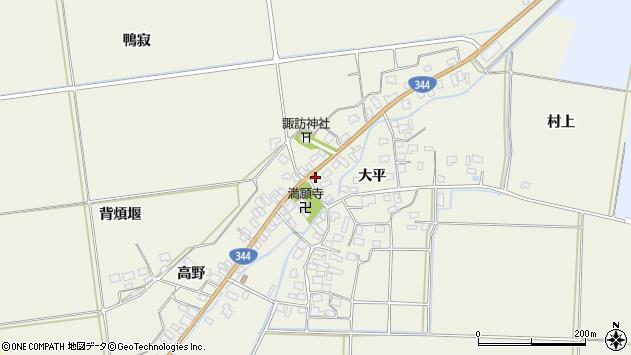 山形県酒田市安田大平149周辺の地図
