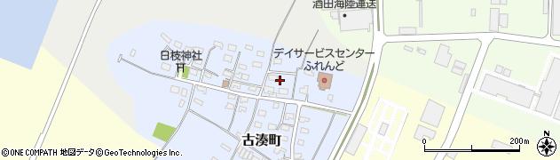 山形県酒田市古湊町10周辺の地図
