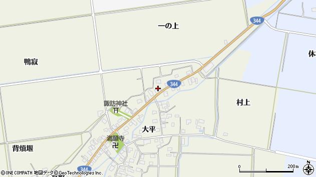 山形県酒田市安田大平188周辺の地図