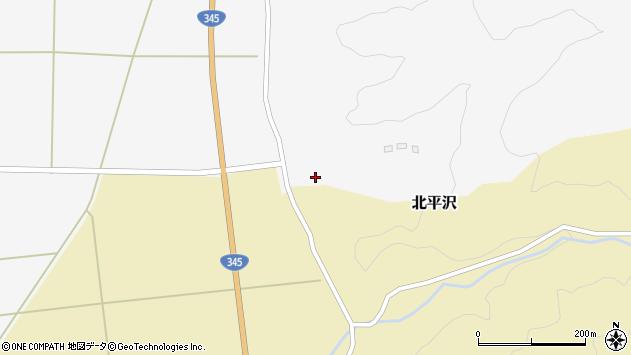 山形県酒田市北平沢堀ノ内62周辺の地図