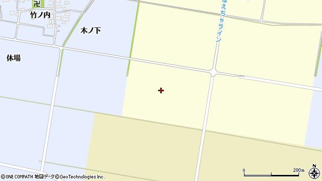 山形県酒田市大島田色田周辺の地図