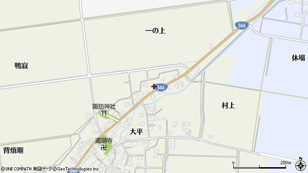 山形県酒田市安田大平219周辺の地図