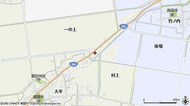 山形県酒田市安田一の上72周辺の地図