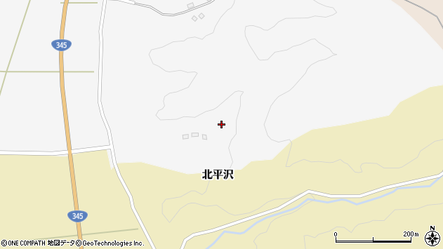山形県酒田市寺田道ノ上149周辺の地図