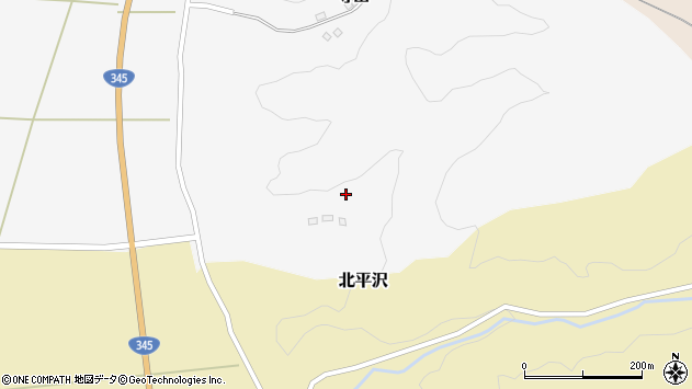 山形県酒田市寺田道ノ上148周辺の地図