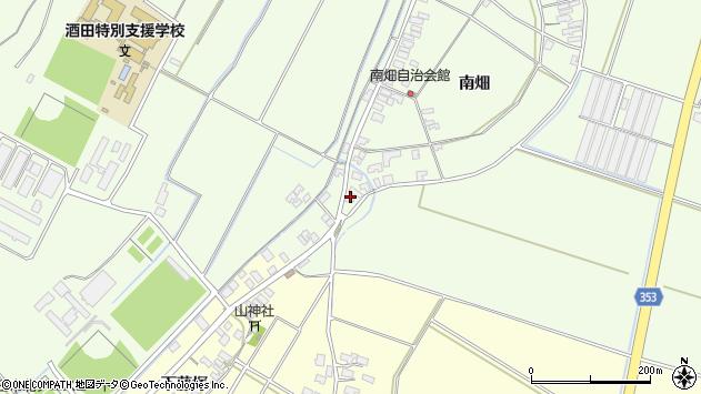 山形県酒田市藤塚南畑109周辺の地図