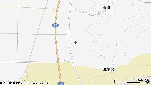 山形県酒田市寺田道ノ上136周辺の地図