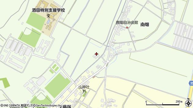 山形県酒田市藤塚南畑112周辺の地図