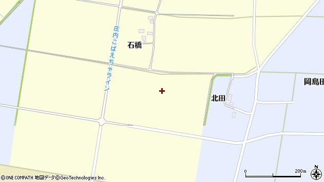 山形県酒田市大島田沼田周辺の地図