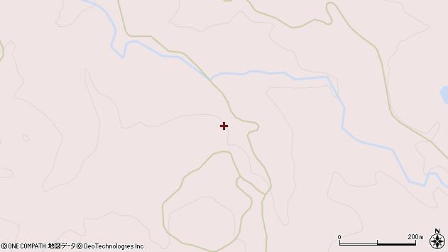 山形県酒田市下青沢中ノ沢周辺の地図