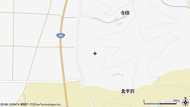 山形県酒田市寺田道ノ上112周辺の地図