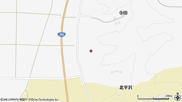 山形県酒田市寺田道ノ上111周辺の地図