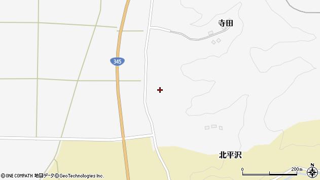 山形県酒田市寺田道ノ上110周辺の地図