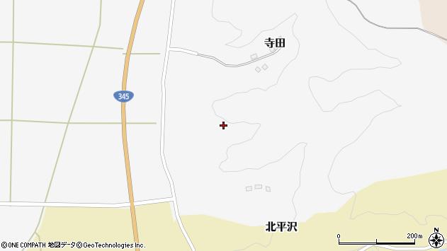 山形県酒田市寺田道ノ上115周辺の地図