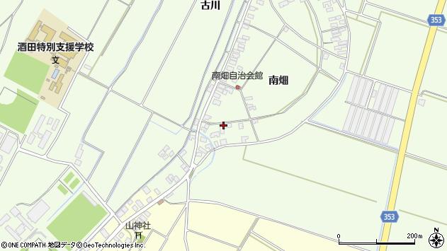 山形県酒田市藤塚南畑159周辺の地図