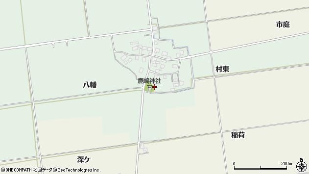 山形県酒田市保岡村東15周辺の地図