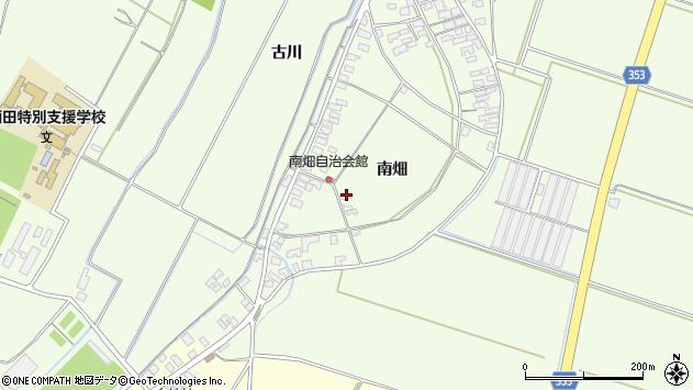 山形県酒田市藤塚南畑107周辺の地図