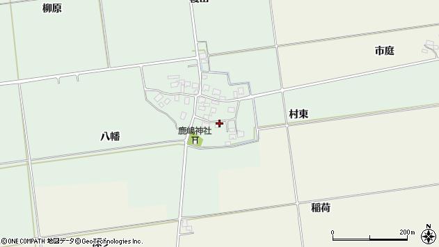 山形県酒田市保岡村東30周辺の地図