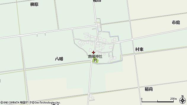 山形県酒田市保岡八幡40周辺の地図