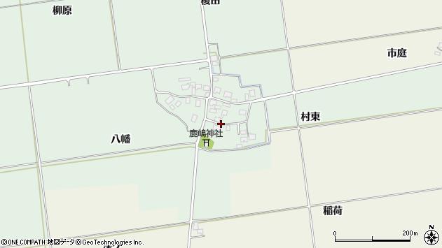 山形県酒田市保岡村東32周辺の地図
