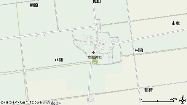 山形県酒田市保岡八幡48周辺の地図
