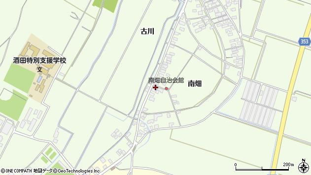山形県酒田市藤塚南畑20周辺の地図