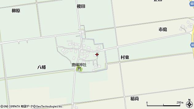 山形県酒田市保岡村東36周辺の地図