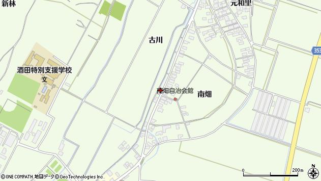 山形県酒田市宮海古川281周辺の地図