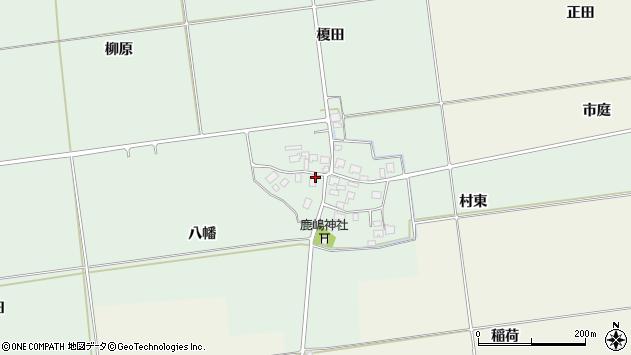 山形県酒田市保岡八幡49周辺の地図