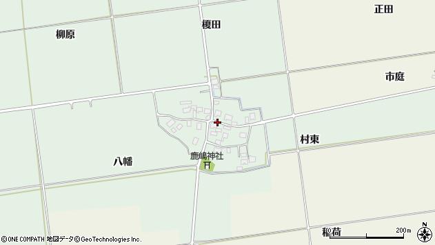 山形県酒田市保岡村東70周辺の地図